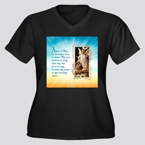 Angel of God (Day) Plus Size T-Shirt