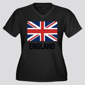 I Heart England Plus Size T-Shirt
