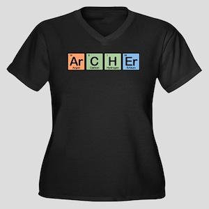 Archer made of Elements Women's Plus Size V-Neck D