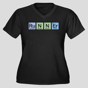 Runner made of Elements Women's Plus Size V-Neck D