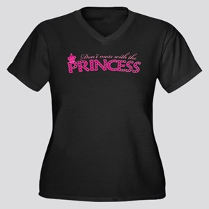 dontmesswithprincess Women's Plus Size V-Neck