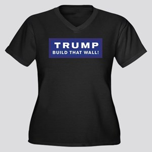 Trump is my President Plus Size T-Shirt