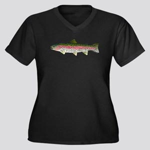 Rainbow Trout - Stream Plus Size T-Shirt