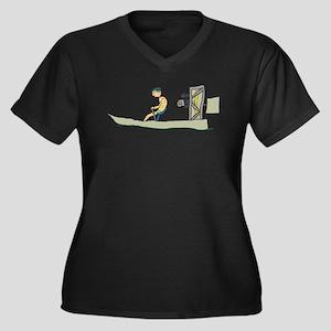 Swamp Boat Plus Size T-Shirt