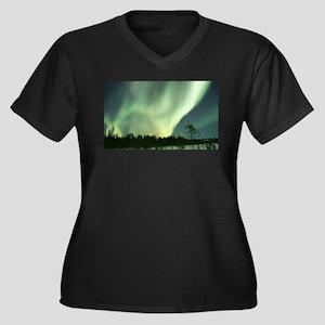 Northern Lights Plus Size T-Shirt