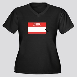 My Name Is Plus Size T-Shirt
