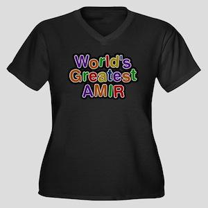 Worlds Greatest Amir Plus Size T-Shirt