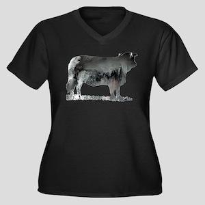 Cow Plus Size T-Shirt