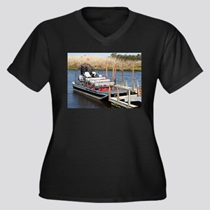 Florida swamp airboat Plus Size T-Shirt