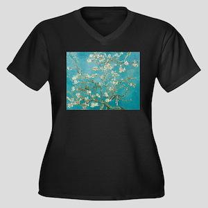 van gogh almond blossoms Plus Size T-Shirt