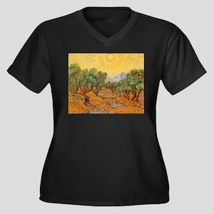 Van Gogh Olive Trees Yellow Sky And Sun Women's Pl