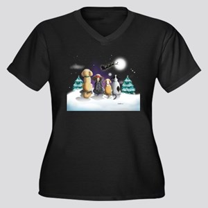 The Magical Night Variation Plus Size T-Shirt