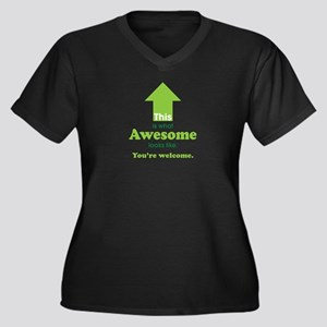 Awesome_lime Plus Size T-Shirt