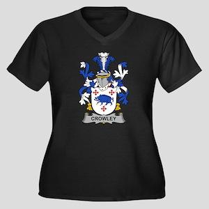 Crowley Family Crest Plus Size T-Shirt