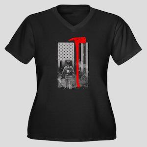 Firefighter Plus Size T-Shirt