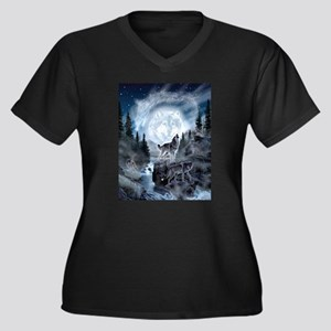 spirt of the wolf Plus Size T-Shirt