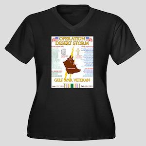 operation desert storm gulf war Plus Size T-Shirt
