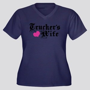 Trucker's Wife Plus Size T-Shirt