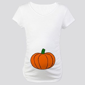 Pumpkin Maternity T-Shirt