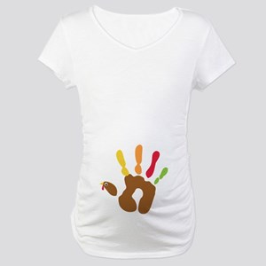 Turkey Hand Maternity Dark T-Shirt