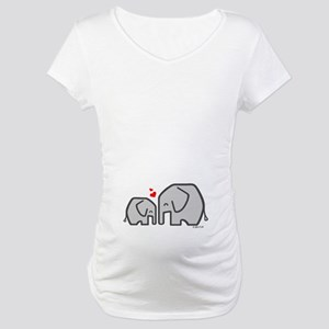 Elephants (4) Maternity T-Shirt