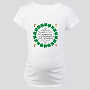 Irish Prayer Blessing Maternity T-Shirt