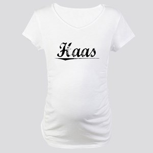 Haas, Vintage Maternity T-Shirt