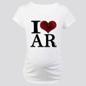 I Love AReola Maternity T-Shirt