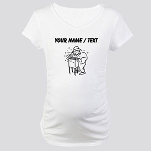 Custom Bee Keeper Maternity T-Shirt