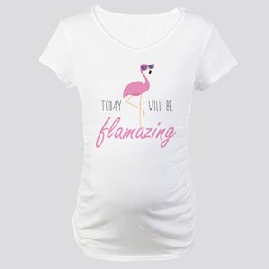 flamingo16 Maternity T-Shirt