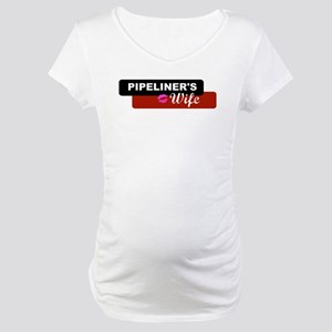Pipeliner's Wife Maternity T-Shirt