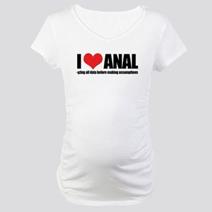 I Love Anal-yzing Maternity T-Shirt