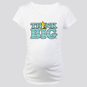 Woodstock-Think Big Maternity T-Shirt