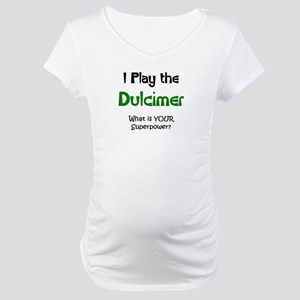 play dulcimer Maternity T-Shirt
