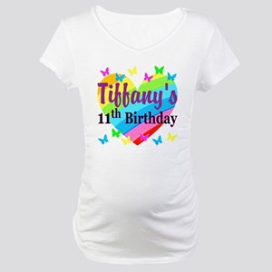 PERSONALIZED 11TH Maternity T-Shirt