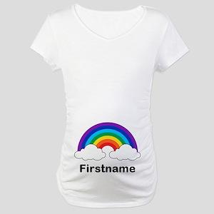 80d6631a Lesbian Couple Maternity T-Shirts - CafePress