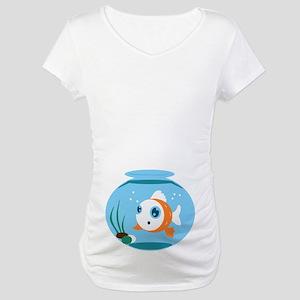 d1021a15 Fish Bowl Maternity T-Shirts - CafePress