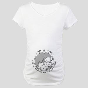 00fef77e78d4c Rock And Roll Maternity T-Shirts - CafePress