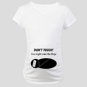 1b6ed65f96510 Ninja Baby Maternity T-Shirts - CafePress