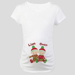 a7c5c0476fb18 Christmas Maternity T Shirts Photo Album - Unamon