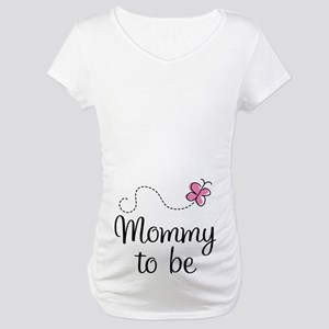 Mommy To Be (pink) Maternity T-Shirt