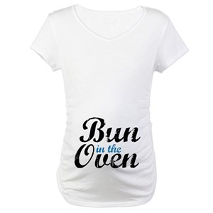 510db3e0 Bun In The Oven Maternity T-Shirts - CafePress