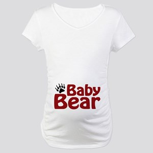 Baby Bear Claw Maternity T-Shirt
