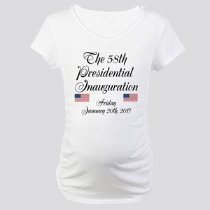 The 58th Presidential Inauguration Maternity T-Shi