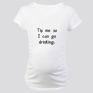 cc7fdfb1bd9a Bartender Maternity T-Shirts - CafePress