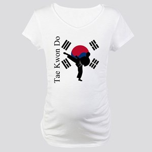 TKD Flag Maternity T-Shirt