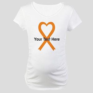 9548bf4ea7d28 Personalize Leukemia Maternity T-Shirts - CafePress