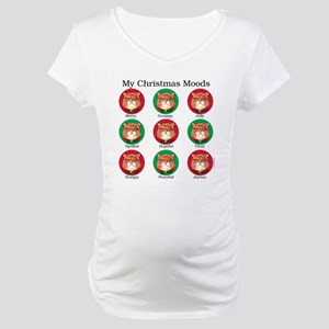 Christmas Moods Maternity T-Shirt