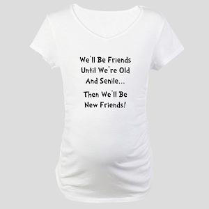 8f7aca44 Best Friends Maternity T-Shirts - CafePress