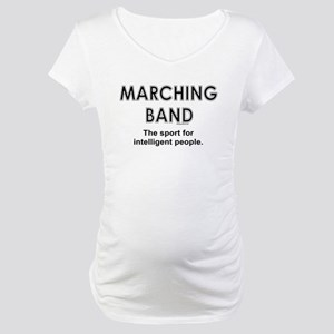 a72739e9 Funny Marching Band Maternity T-Shirts - CafePress